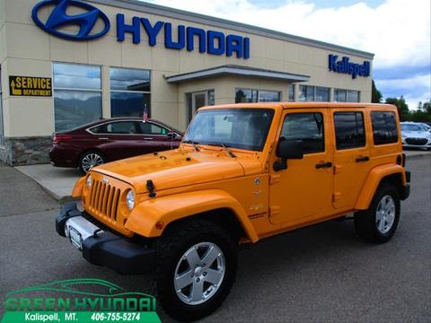 2012 Jeep Wrangler Unlimited for sale in Kalispell, MT
