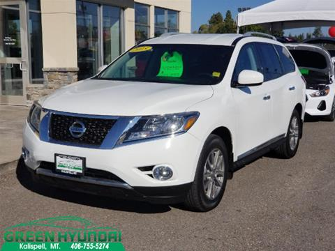 2015 Nissan Pathfinder for sale in Kalispell MT