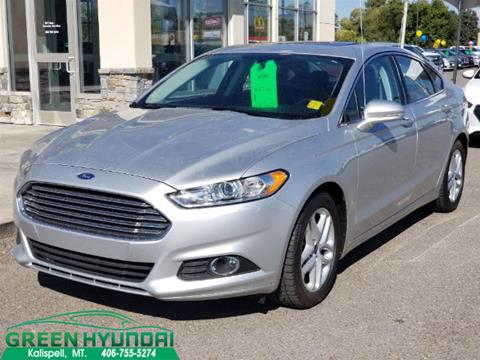 2016 Ford Fusion for sale in Kalispell MT