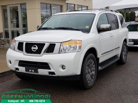 2015 Nissan Armada for sale in Kalispell MT