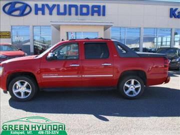 2011 Chevrolet Avalanche for sale in Kalispell, MT