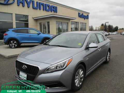 2017 Hyundai Sonata Hybrid for sale in Kalispell, MT