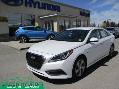 2017 Hyundai Sonata Hybrid for sale in Kalispell MT