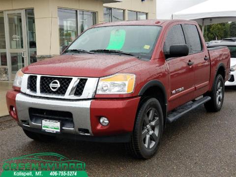 2015 Nissan Titan for sale in Kalispell MT