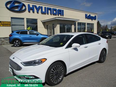 2017 Ford Fusion for sale in Kalispell MT