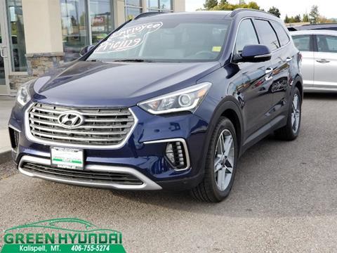 2017 Hyundai Santa Fe for sale in Kalispell MT
