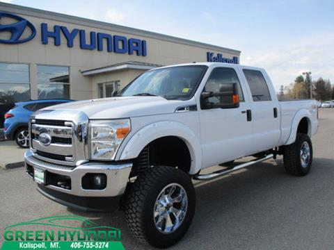 2012 Ford F-250 Super Duty for sale in Kalispell MT