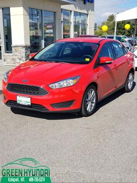 2016 Ford Focus for sale in Kalispell MT