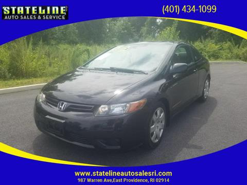 2008 Honda Civic for sale in East Providence, RI