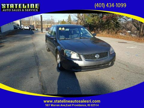 2006 Nissan Altima for sale in East Providence, RI