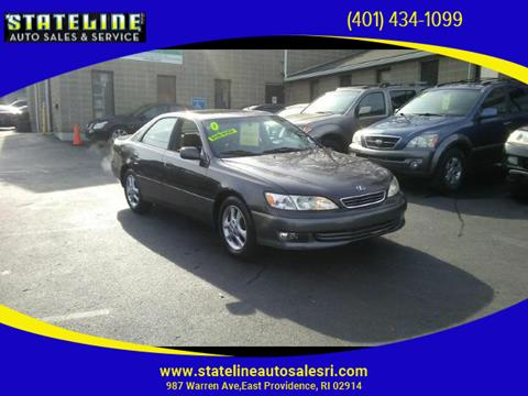 2001 Lexus ES 300 for sale in East Providence, RI
