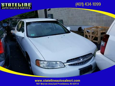 2001 Nissan Altima for sale in East Providence, RI