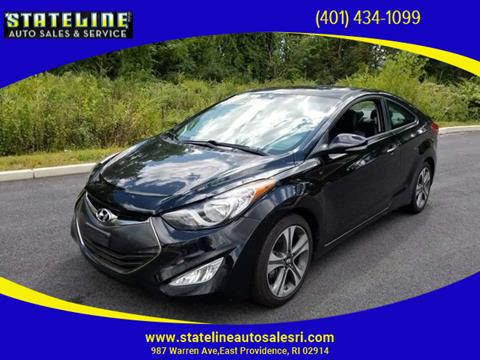 2013 Hyundai Elantra Coupe for sale in East Providence, RI