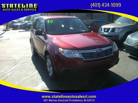 2010 Subaru Forester for sale in East Providence, RI