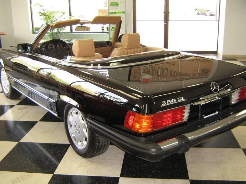 1985 Mercedes-Benz 380-Class 380SL 2dr Convertible - Fairborn OH