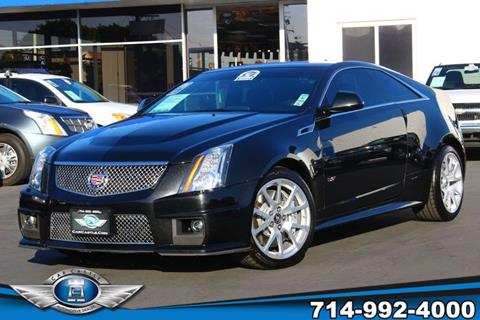 2013 Cadillac CTS-V for sale in Fullerton, CA