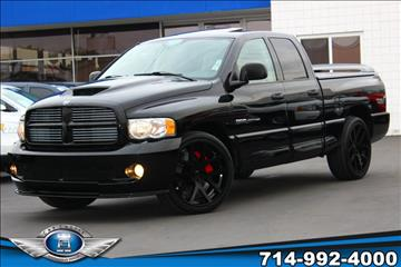 2005 Dodge Ram Pickup 1500 SRT-10 for sale in Fullerton, CA