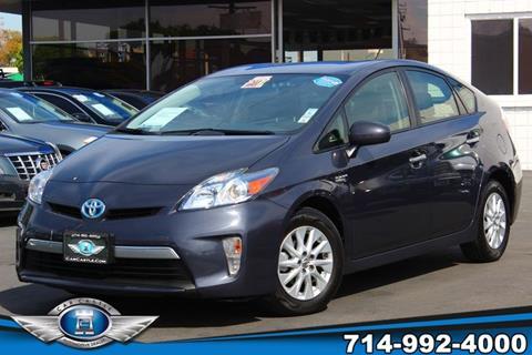 2012 Toyota Prius Plug-in Hybrid for sale in Fullerton, CA