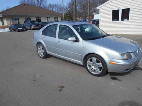 2002 Volkswagen Jetta GLS 1.8T for sale at SPECIALTY CARS INC in Faribault MN