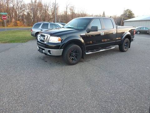 2008 Ford F-150 for sale at A1 Auto Sales in Chisago City MN