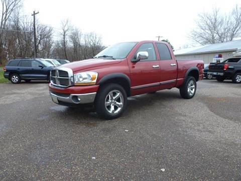 2006 Dodge Ram Pickup 1500 for sale at A1 Auto Sales in Chisago City MN