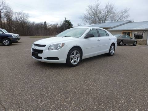 2010 Chevrolet Malibu for sale at A1 Auto Sales in Chisago City MN