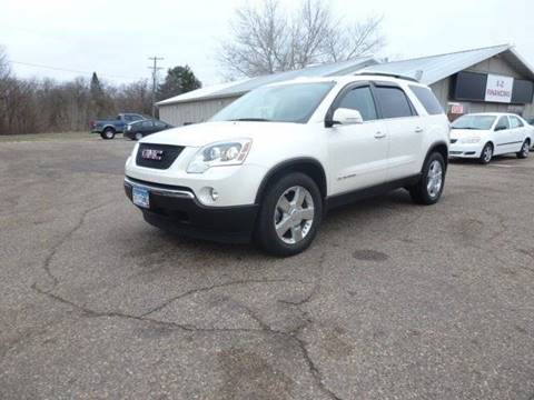 2008 GMC Acadia for sale at A1 Auto Sales in Chisago City MN