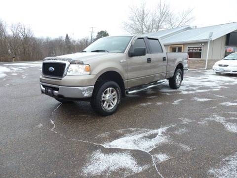 2006 Ford F-150 for sale at A1 Auto Sales in Chisago City MN