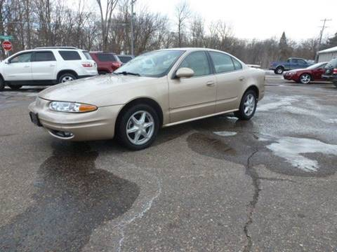 2001 Oldsmobile Alero for sale at A1 Auto Sales in Chisago City MN