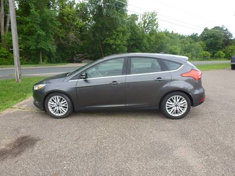 2015 Ford Focus for sale at A1 Auto Sales in Chisago City MN