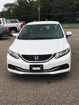 2014 Honda Civic for sale at A1 Auto Sales in Chisago City MN