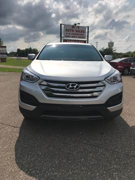 2015 Hyundai Santa Fe Sport for sale at A1 Auto Sales in Chisago City MN