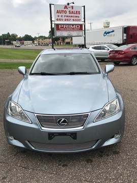 2007 Lexus IS 250 for sale at A1 Auto Sales in Chisago City MN