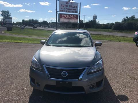 2014 Nissan Sentra for sale at A1 Auto Sales in Chisago City MN