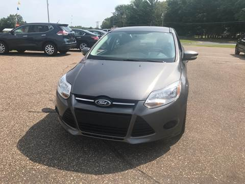2014 Ford Focus for sale at A1 Auto Sales in Chisago City MN