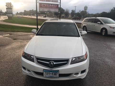 2008 Acura TSX for sale at A1 Auto Sales in Chisago City MN