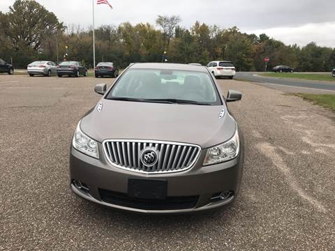 2012 Buick LaCrosse for sale at A1 Auto Sales in Chisago City MN