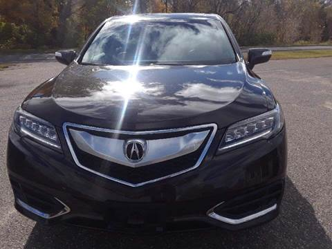 2016 Acura RDX for sale at A1 Auto Sales in Chisago City MN