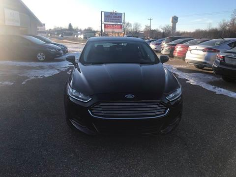 2013 Ford Fusion for sale at A1 Auto Sales in Chisago City MN