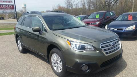 2017 Subaru Outback for sale at A1 Auto Sales in Chisago City MN