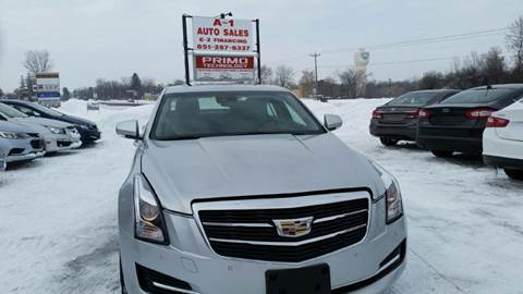 2017 Cadillac ATS for sale at A1 Auto Sales in Chisago City MN