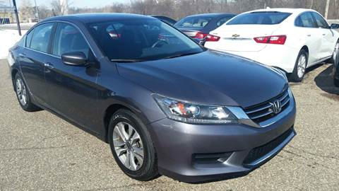 2015 Honda Accord for sale at A1 Auto Sales in Chisago City MN