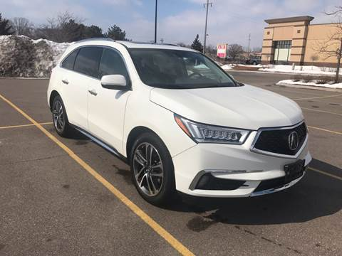 2017 Acura MDX for sale at A1 Auto Sales in Chisago City MN