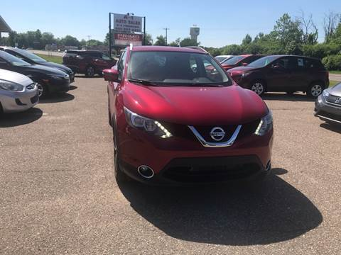 2017 Nissan Rogue Sport for sale at A1 Auto Sales in Chisago City MN