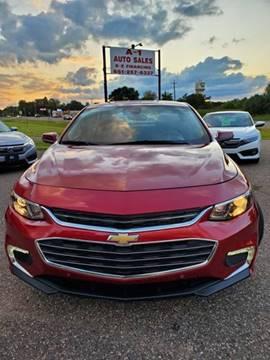 2016 Chevrolet Malibu for sale in Chisago City, MN