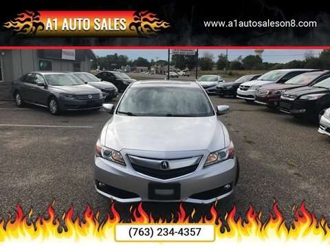 2013 Acura ILX for sale at A1 Auto Sales in Chisago City MN