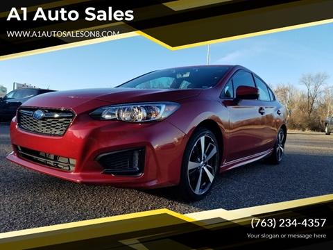 2017 Subaru Impreza for sale at A1 Auto Sales in Chisago City MN