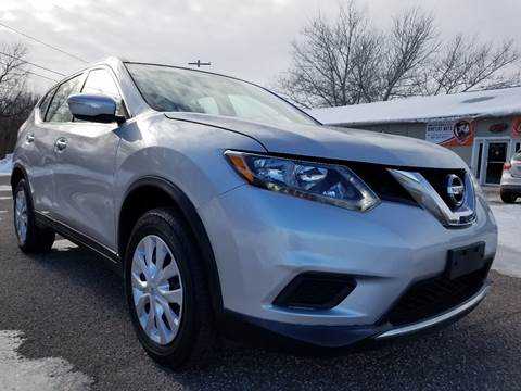 2015 Nissan Rogue for sale at A1 Auto Sales in Chisago City MN