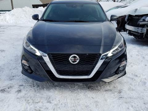 2020 Nissan Altima for sale at A1 Auto Sales in Chisago City MN
