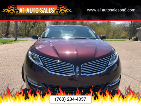 2013 Lincoln MKZ for sale at A1 Auto Sales in Chisago City MN